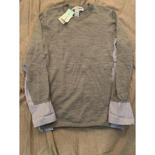 COMME des GARCONS - コムデギャルソン シャツ フランス製 今期 ニットシャツ S