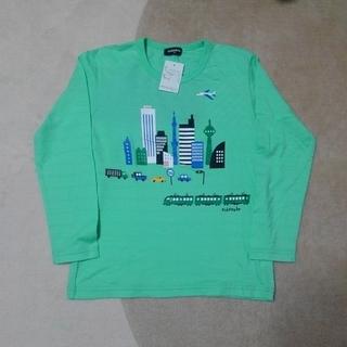 kladskap - クレードスコープ 【新品】 車 と 電車柄 長袖 Tシャツ 130