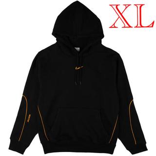 ナイキ(NIKE)の新品未使用 US XL NIKE NOCTA hoodie BLACK パーカー(パーカー)