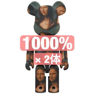 メディコムトイ(MEDICOM TOY)のBE@RBRICK Mona Lisa 1000% 2個セット(その他)