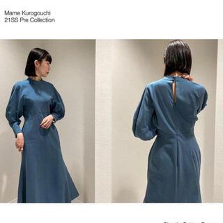 mame - mame 2021 pre ss ワンピース ドレス マメクロゴウチ
