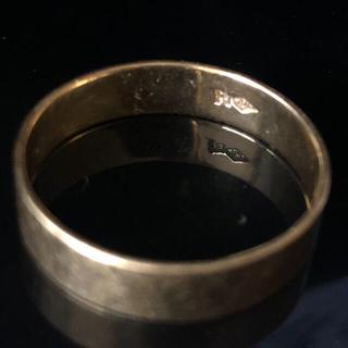 k18 ゴールド 平打ち リング 金 マリッジリング 純金 18金