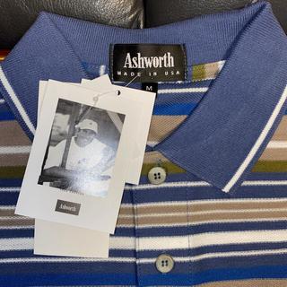 アシュワース(Ashworth)の⑦新品・未使用 Ashworthの長袖ポロシャツ(シャツ)
