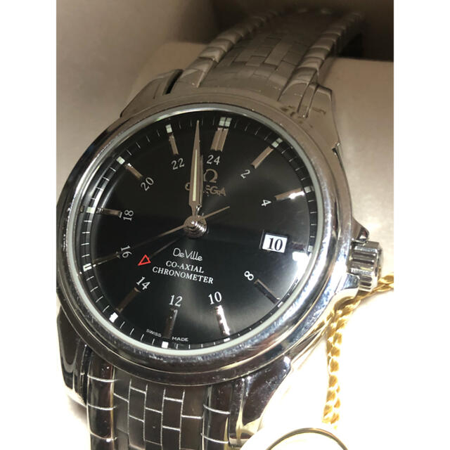 OMEGA(オメガ)のOMEGAオメガ デビル コーアクGMT デイト4833.51 自動巻き メンズ メンズの時計(腕時計(アナログ))の商品写真