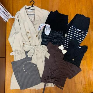 ダブルクローゼット(w closet)の総額4万円ほど レディース服まとめ売り 11点セット(セット/コーデ)