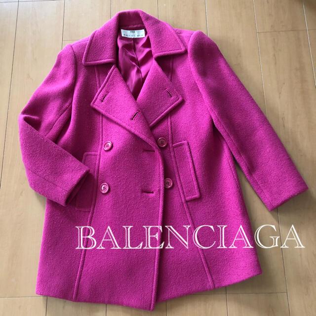 Balenciaga(バレンシアガ)の【 BALENCIAGA  】 バレンシアガ コート Pコート ピーコート レディースのジャケット/アウター(ピーコート)の商品写真