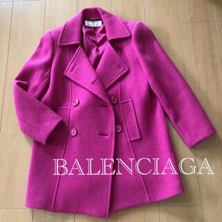バレンシアガ(Balenciaga)の【 BALENCIAGA  】 バレンシアガ コート Pコート ピーコート(ピーコート)