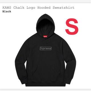 Supreme - KAWS Chalk Logo hooded Sweatshirt Sサイズ