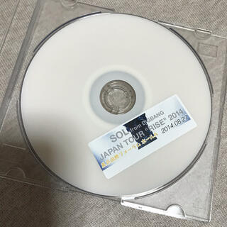 ビッグバン(BIGBANG)のSOL LIVE DVD(韓国/アジア映画)