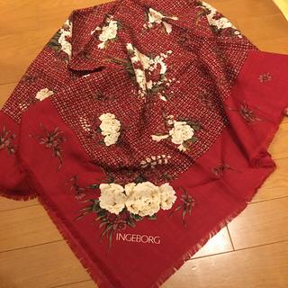 インゲボルグ(INGEBORG)の🌺インゲボルグ  スカート &  スカーフ 未着用🌺(ロングスカート)