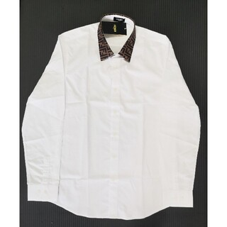 FENDI - ホワイト フェンディ シャツ