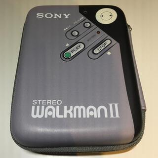 ウォークマン(WALKMAN)のSONY WM-2 Walkmanポーチ(ポータブルプレーヤー)