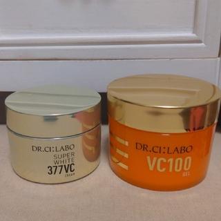 ドクターシーラボ(Dr.Ci Labo)のドクターシーラボ ホワイト377クリーム&VC100ゲル 2個セット(フェイスクリーム)