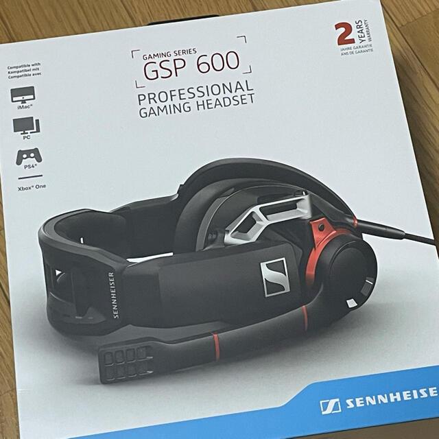 SENNHEISER GSP 600 スマホ/家電/カメラのオーディオ機器(ヘッドフォン/イヤフォン)の商品写真