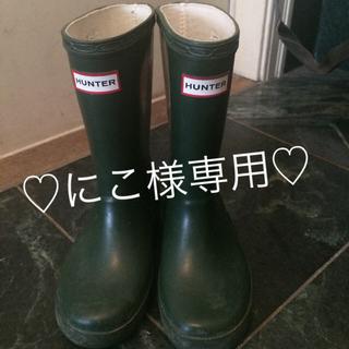ハンター(HUNTER)のHUNTER長靴♡(長靴/レインシューズ)