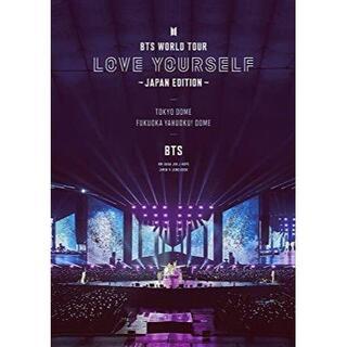 BTS WORLD TOUR 'LOVE YOURSELF' 通常盤DVD