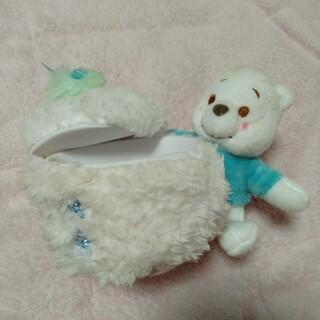 クマノプーサン(くまのプーさん)の白のプーさん(収納/キッチン雑貨)