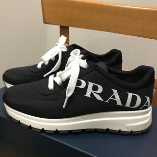 PRADA - プラダ スニーカー 黒