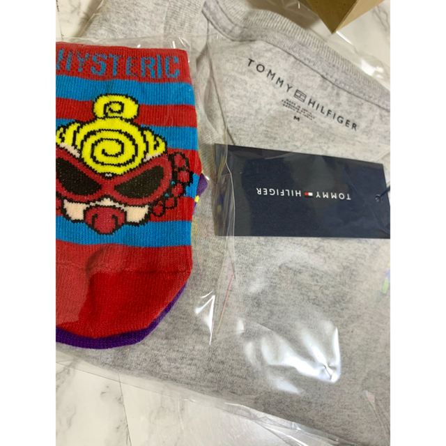 HYSTERIC MINI(ヒステリックミニ)のベビー靴下  キッズ/ベビー/マタニティのこども用ファッション小物(靴下/タイツ)の商品写真