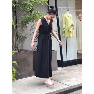 ENFOLD - 新品✴︎ ELENDEEK 上質 ワンピース ドレス エレンディーク 春夏 黒