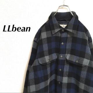 エルエルビーン(L.L.Bean)のllbean エルエルビーン チェック柄ジャケット アウター 古着(シャツ)