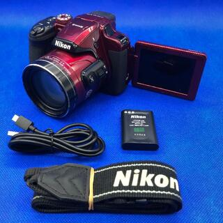 Nikon - 【60倍ズーム】 NIKON COOLPIX B700 レッド