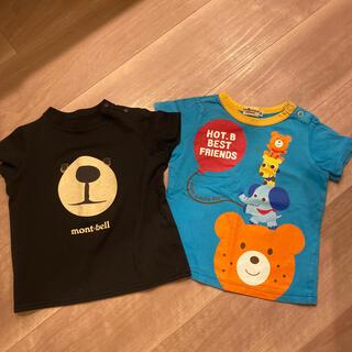 ミキハウス(mikihouse)のミキハウス モンベル 80  ティシャツ (Tシャツ)