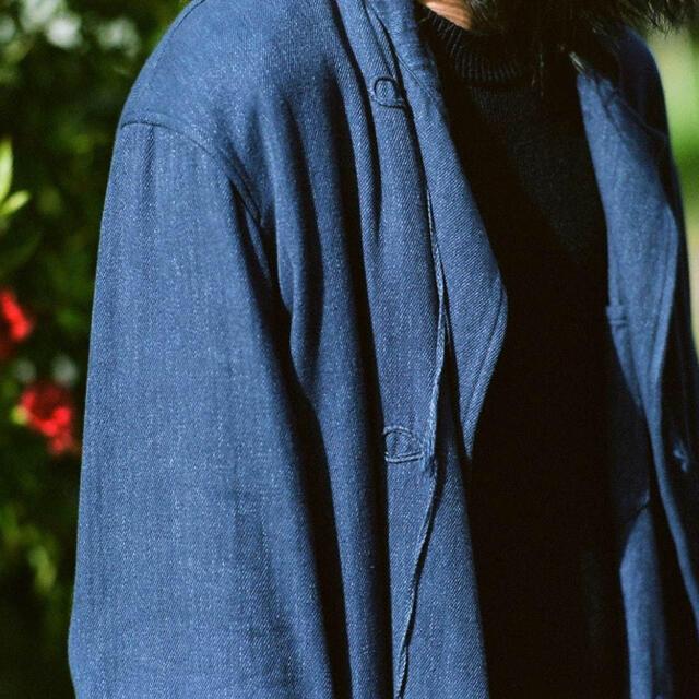 COMOLI(コモリ)の【21ss/新品】comoli フレンチブルー スタンドカラー ジャケット  メンズのジャケット/アウター(その他)の商品写真