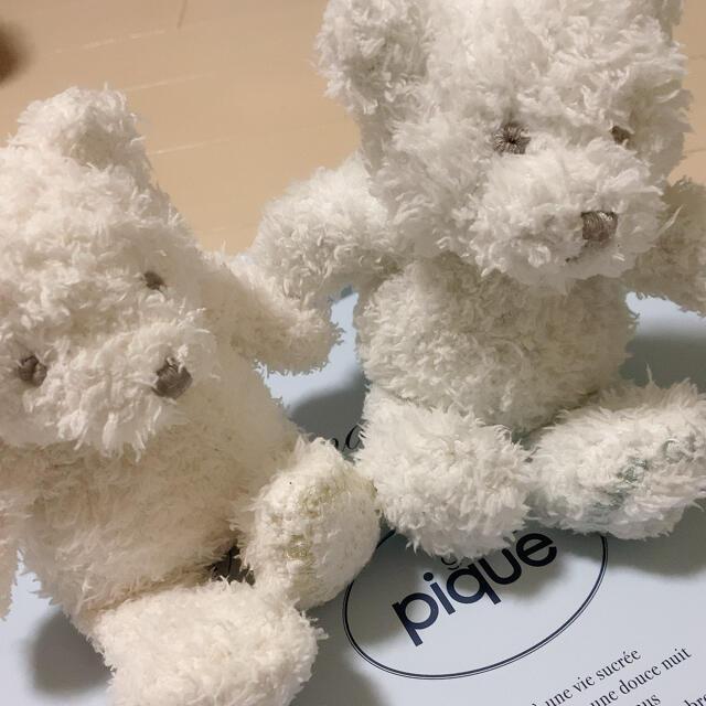 gelato pique(ジェラートピケ)のジェラートピケ 10周年 テディベア エンタメ/ホビーのおもちゃ/ぬいぐるみ(ぬいぐるみ)の商品写真