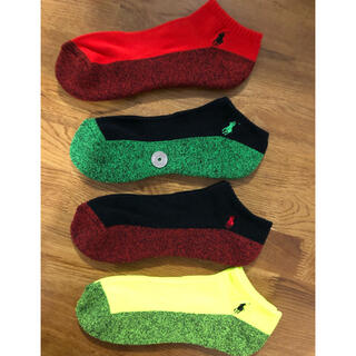 Ralph Lauren - 新品ポロラルフローレン メンズソックス 靴下 4足セット832