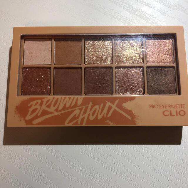 CLIOアイパレット 02(Brown Choux) コスメ/美容のベースメイク/化粧品(アイシャドウ)の商品写真