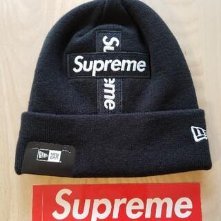 Supreme - Supreme × New Era クロスロゴ ニット帽