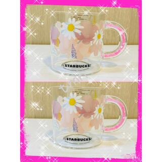Starbucks Coffee - NEW❗️スターバックス☆サクラ2021☆耐熱グラスマグ☆2個