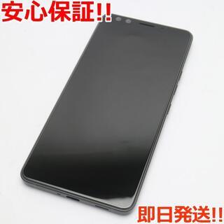 ハリウッドトレーディングカンパニー(HTC)の美品 SIMフリー U12+ セラミックブラック 白ロム (スマートフォン本体)