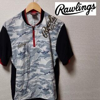 Rawlings - ローリングス メンズ Lサイズ 野球 スポーツ トレーニング 半袖 ウェア