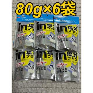 モリナガセイカ(森永製菓)の【6袋】in塩分プラス タブレット(その他)