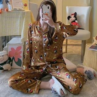 レディースルームウェア ミッキー ディズニー XLサイズ パジャマ 新品