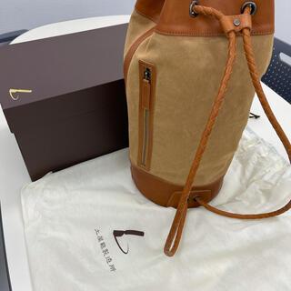 ツチヤカバンセイゾウジョ(土屋鞄製造所)の土屋鞄 レザーキャンバス セーラーバッグ 新品 未使用(ショルダーバッグ)