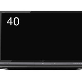 AQUOS - テレビ本体 40型 レコーダー内臓 SHARP AQUOS LC-40DR9