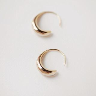 DEUXIEME CLASSE - drop hoop pierce ◯18k coating