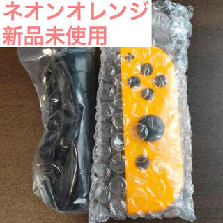 ニンテンドースイッチ(Nintendo Switch)のswitch ジョイコン 右 ネオンオレンジ joy-con 新品未使用(家庭用ゲーム機本体)