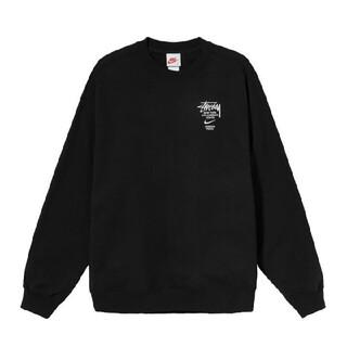STUSSY - STUSSY / NIKE CREW FLEECE 黒