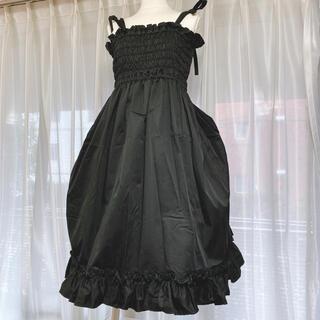 ヴィクトリアンメイデン(Victorian maiden)のVictorian Maiden  シャーリングバッスルサンドレス(ひざ丈ワンピース)