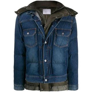 サカイ(sacai)の★sacai★ Denim Layered Padded Down Jacket(ダウンジャケット)