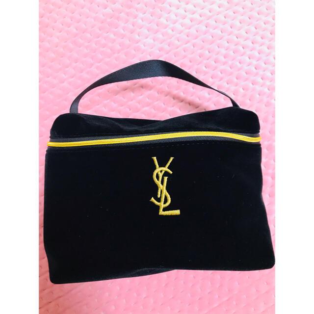 Yves Saint Laurent Beaute(イヴサンローランボーテ)のイヴ サンローラン化粧バッグ  小物入れ レディースのファッション小物(ポーチ)の商品写真