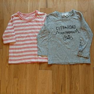 サンカンシオン(3can4on)の長袖 七分袖 Tシャツ 100 3can4on ベルメゾン(Tシャツ/カットソー)