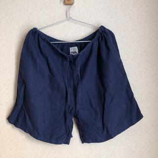イデー(IDEE)のIDEE POOL いろいろの服 リネンハーフパンツ  (カジュアルパンツ)