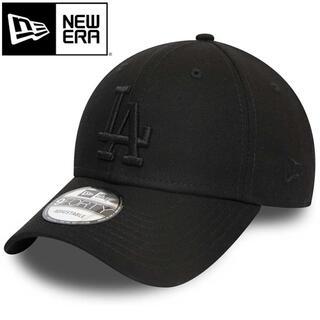 NEW ERA - ニューエラ キャップ LA ドジャース 黒 オールブラック ブラック