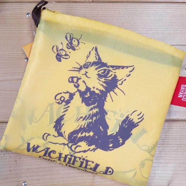 ダヤン エコバッグ みつばちフラワー レディースのバッグ(エコバッグ)の商品写真