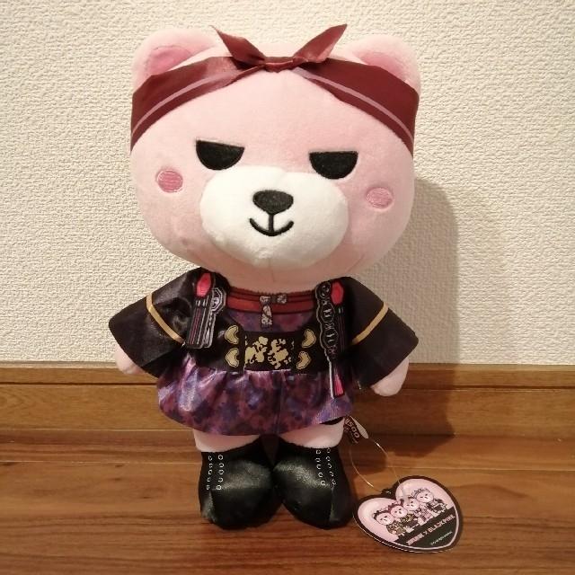 KRUNK✕BLACKPINK BIGぬいぐるみ ジス ブラックピンク エンタメ/ホビーのおもちゃ/ぬいぐるみ(ぬいぐるみ)の商品写真